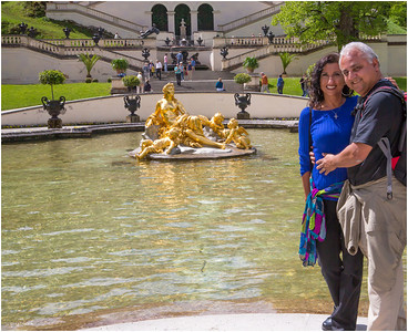 Picture taken by Dawn Merchand at the Linderhof reflecting pool.