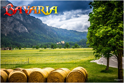 Bavaria is the largest of the 16 states that make up Germany. It occupies the southeastern part of Germany.