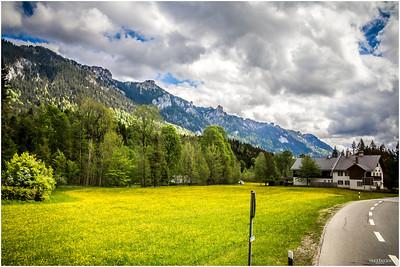 Road to Oberammergau.