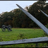 Cannon along the Confederate line<br /> <br /> Gettysburg Battlefield<br /> Gettysburg, PA