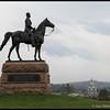 Monument for General George Meade<br /> <br /> Gettysburg Battlefield<br /> Gettysburg, PA