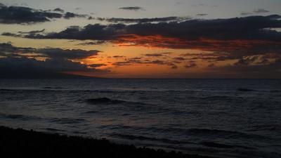180 sunset in Ka'anapali
