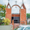 Monday, June 25, 2012 - IMA Mission Trip visits the village of San Francisco near Valladolid, Tinum, Yucatan, Mexico.