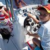 Martin Jaros Jr at the wheel