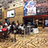 Panorama of the floor at the World Series of Poker (WSOP) at the Rio