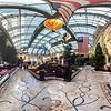 Panorama at the Bellagio Conservatory