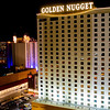 Looking out our room at the Golden Nugget