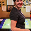 Bobbie at Zappos with the iPadzilla