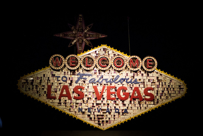 World Series of Poker (WSOP) Las Vegas sign at the Rio