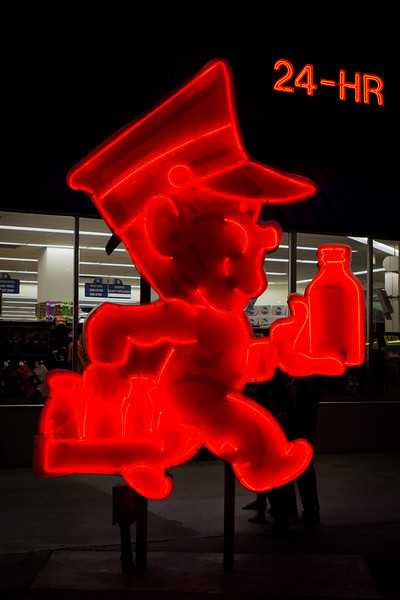 Neon Museum: Andy Anderson the Anderson Dairy Mascot