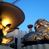 Statues at the MGM