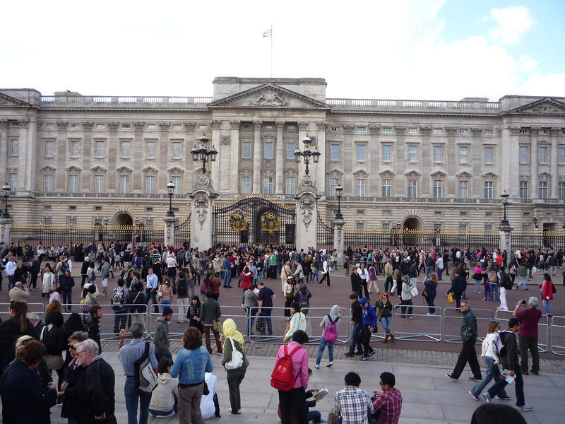 Buckingham Palace is the London home and primary residence of the British monarch. Located in the City of Westminster, the palace is a setting for state occasions and royal hospitality. It has been a focus for the British people at times of national rejoicing and crisis.