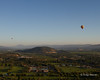 Napa Valley - the near balloon is a soloist working to get his commercial license.