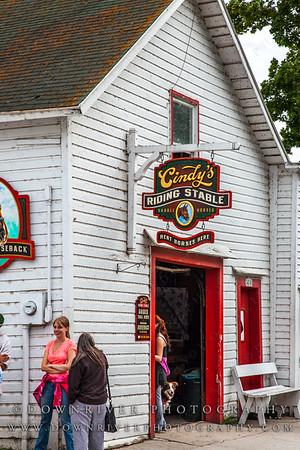 Cindy's Riding Stable, Mackinac Island, MI