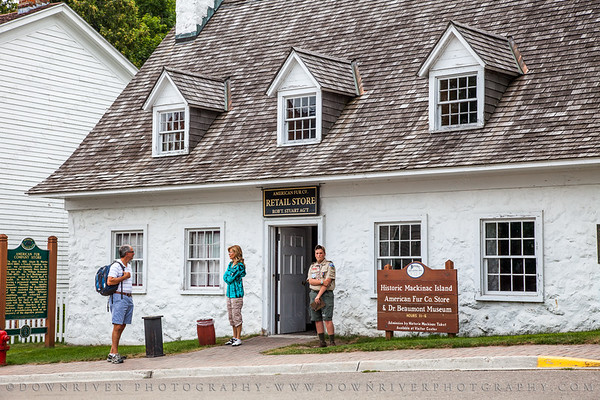 The American Fur Company Store.  I think our guide said this was perhaps the first and only store on the island.