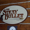 Lunch with Kathy at the Stray Bullet.