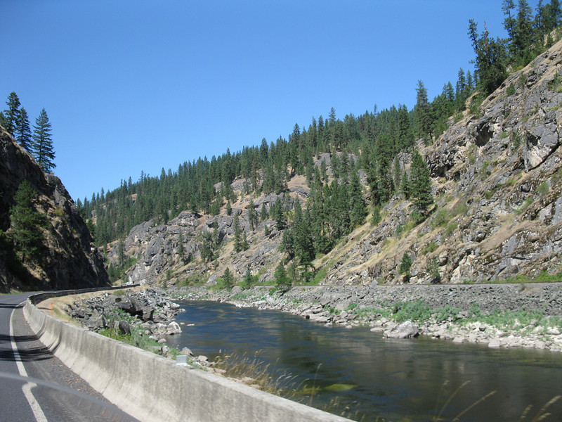 Hwy 12 from Missoula to Lewiston