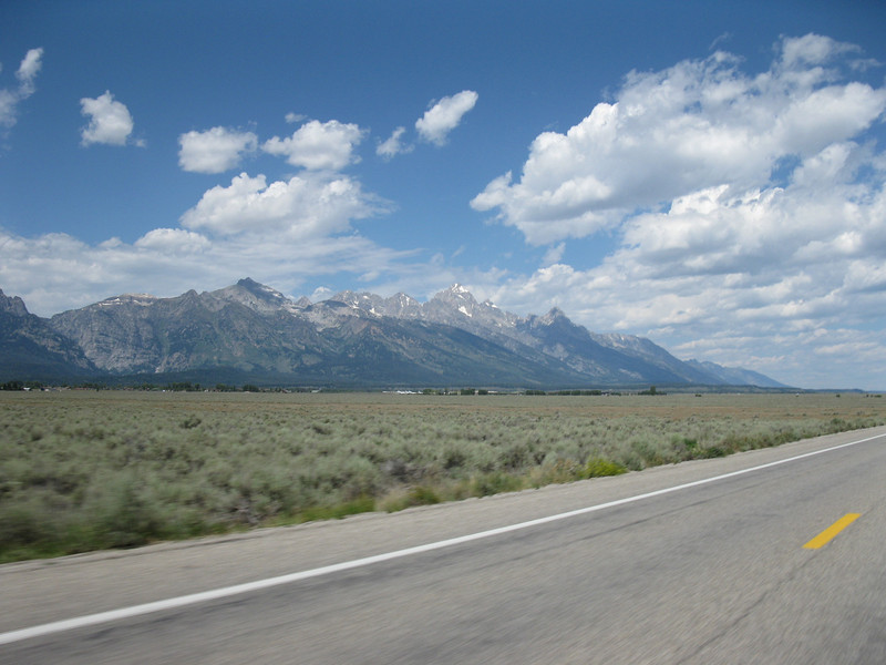 The Grand Tetons.