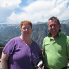 At the top of the switchbacks on the Beartooth Highway.