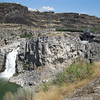 Twin Falls, about two miles upstream from Shoshone Falls.  Caused by a big flood.
