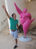 Learning new dance moves at Fortaleza de Sagres
