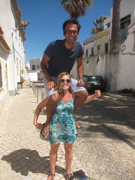 Kristien demonstrates her strength