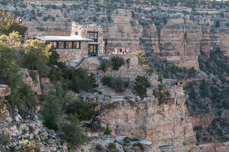 Artist Studio, Bright Angel Trailhead, South Rim of  the Grand Canyon.