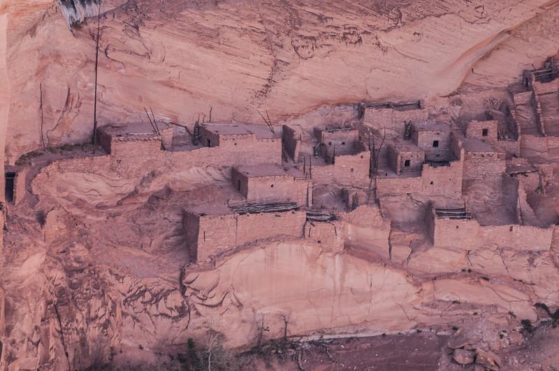 The Betatakin dwelling Ruins at Navajo National Monument.