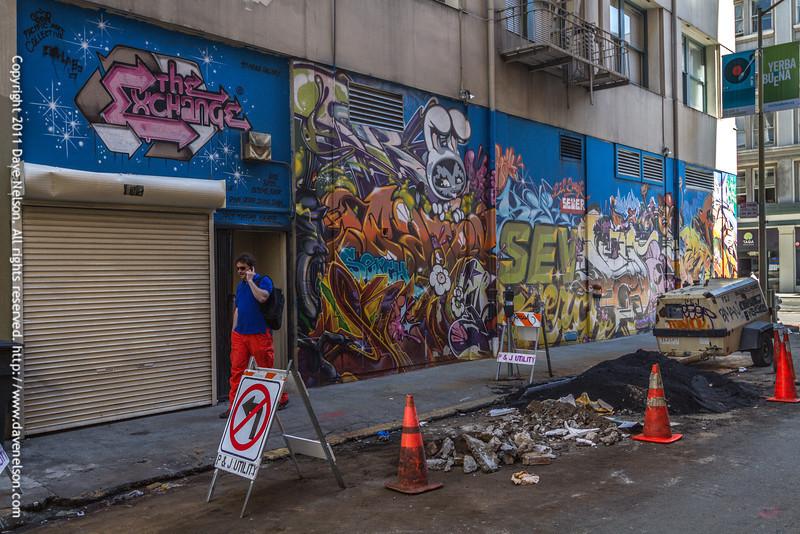 SEVER graffitti in San Francisco