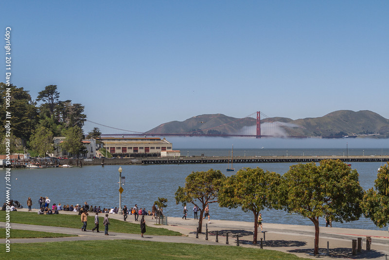 View from the Maritime National Historic Park in San Francisco