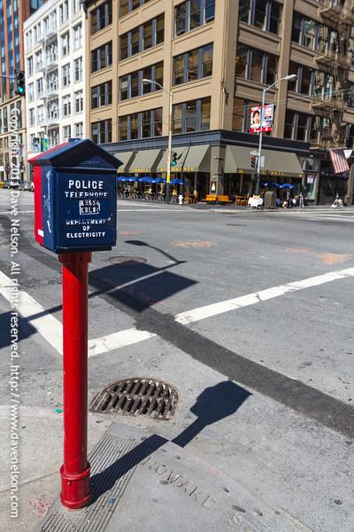 Telephone box in San Francisco