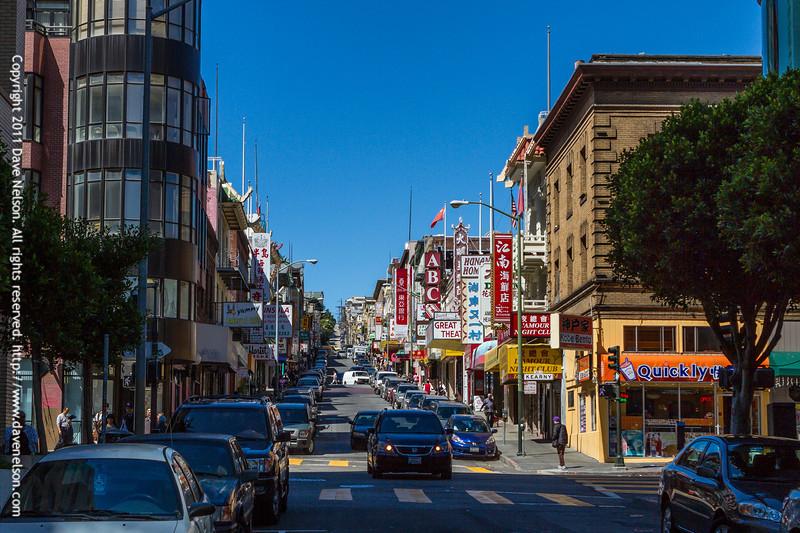 Street view in San Francisco