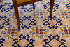 Don't look at me, Mary wanted a picture of the tile floor in our room in Sorrento
