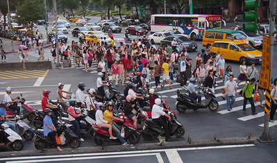 Peak hour traffic, Taipei
