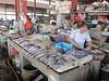 Fish stall at Melaka