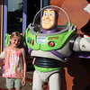 Maggie with Buzz Lightyear