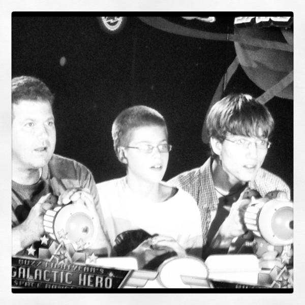 Buzz lightyear ride