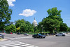 The Capitol from Pennsylvania Avenue.
