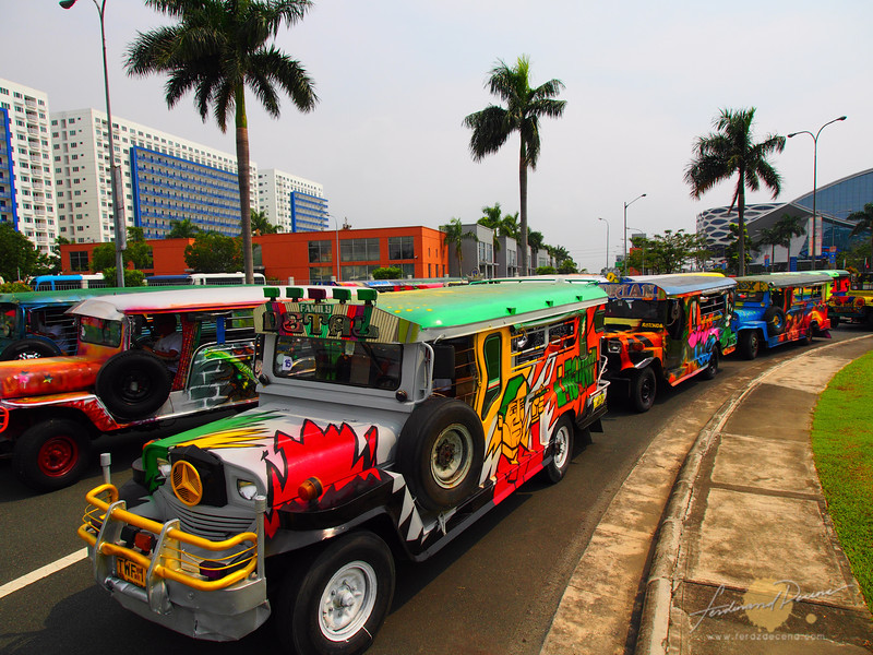 About 43 jeeps participated in this art festival