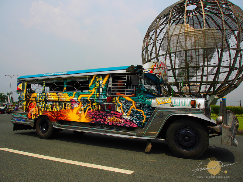 A Batanes inspired jeepney
