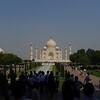 First glimpse of the Taj Mahal