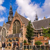 Oude Kerk, center of the Red Light District