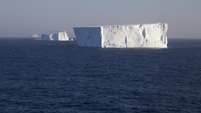 Large Icebergs from our Verandah