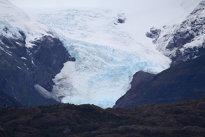 Hanging Glacier, Chilean Fjords