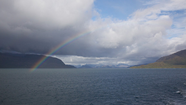 Chilean Fjords Rainbow