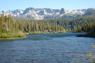 Mono Basin and  Mountain June 2012