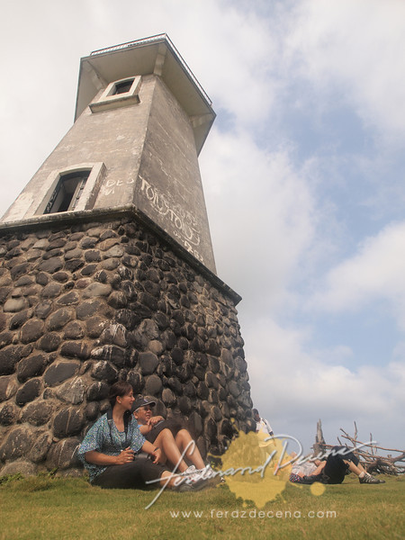 Chill time at the Mahatao lighthouse