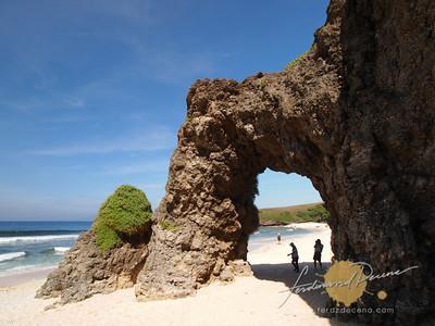 Nakabuang Beach Natural Arc