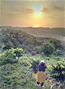 Sunrise Shooting at Mt Karoboboan (HRD Shot with Nokia N8)