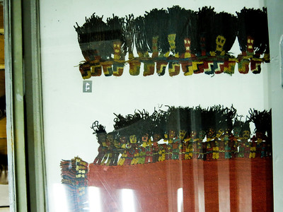 Inca weaving from Museum of Ethnography
